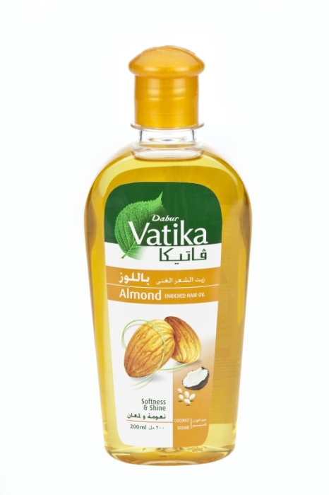 DABUR VATIKA ALMOND 200ML (DABU-005)