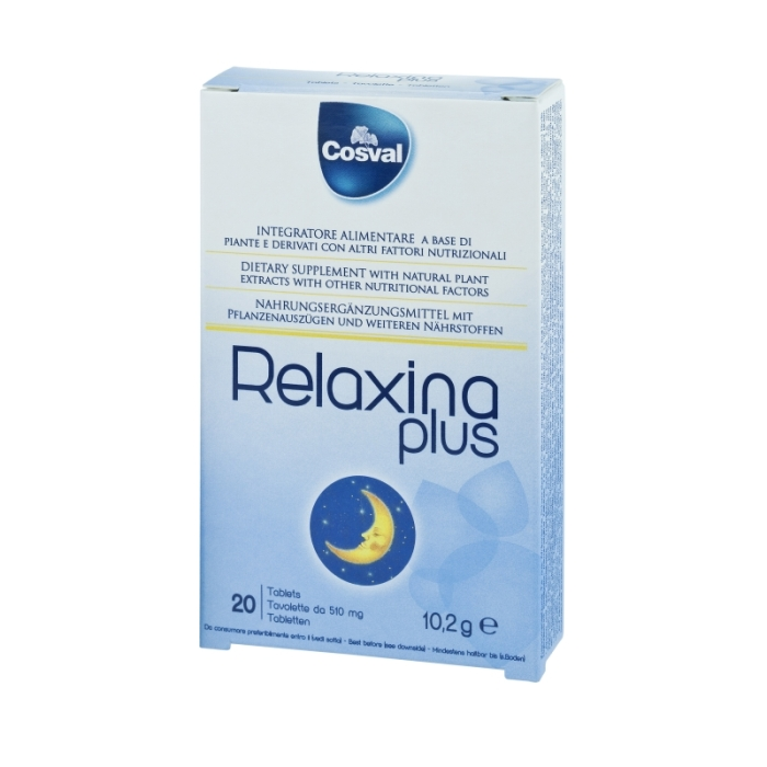 COSVAL RELAXINA PLUS TABS 20S (SAN-033)