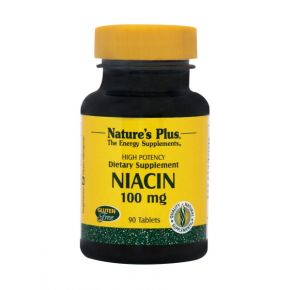 NATURES PLUS NIACIN 100MG TABS 90S (1850)