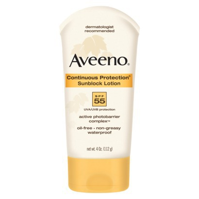 AVEENO CONTINUOUS PROTECTION SPF 50+ 150ML