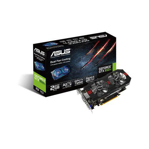 Asus GeForce GTX650 Ti 2GB