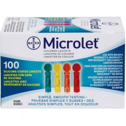 BAYER MICROLET LANCETS 100ΤΕΜ