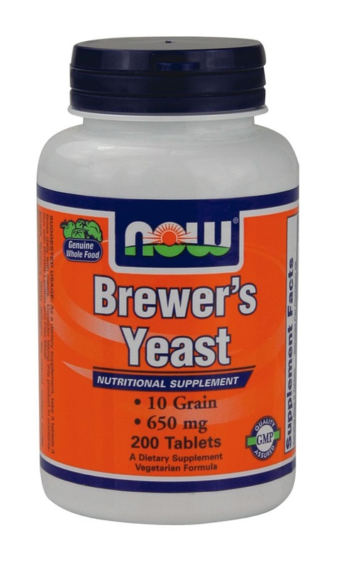 NOW FOODS BREWERS YEAST 10GRAIN TABS 200S (2410)
