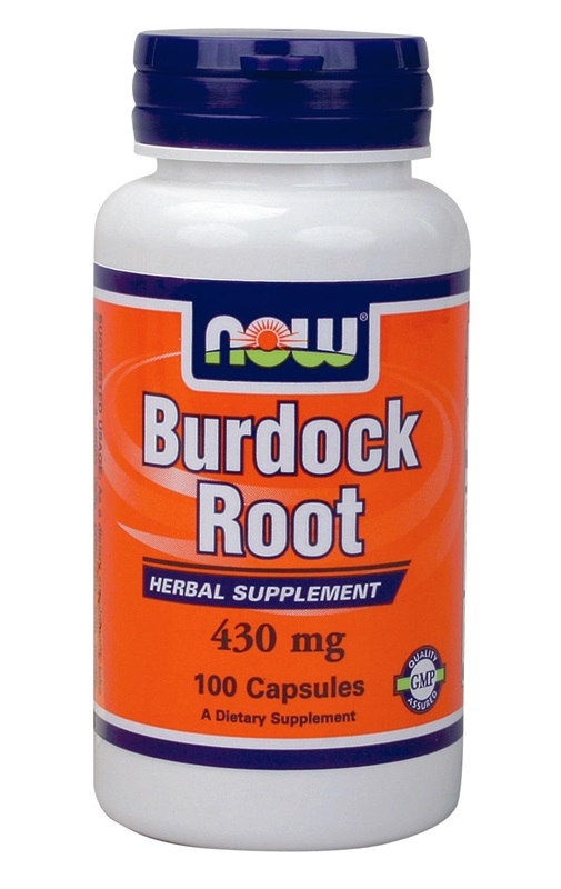 NOW FOODS BURDOCK ROOT 430GR CAPS 100S (4608)