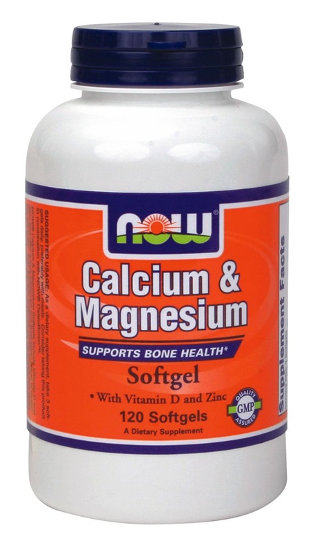 NOW FOODS CAL-MAG+D SOFTGELS 120S (1251)