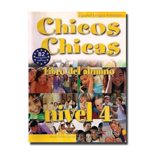 Chicos Chicas 4 (Β2) Audio CD