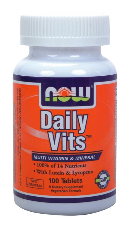 NOW FOODS DAILY VITS MULTI TABS 100S (3770)