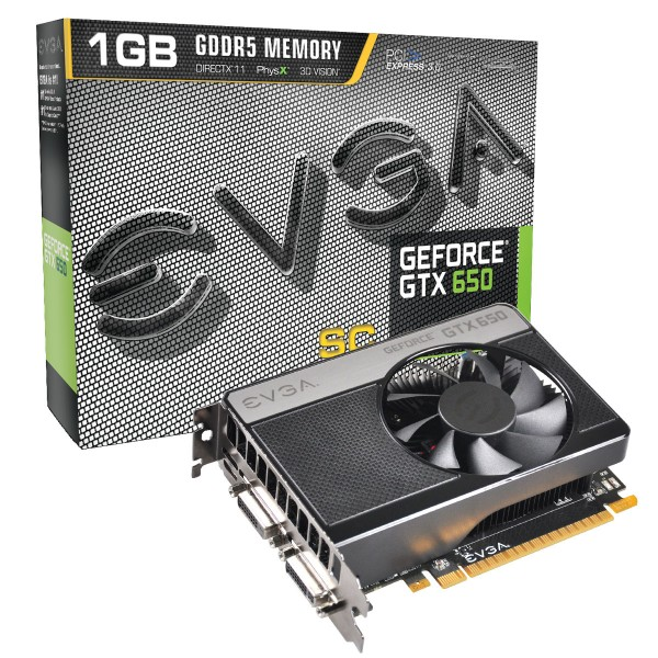 EVGA GeForce GTX650 SC 1GB