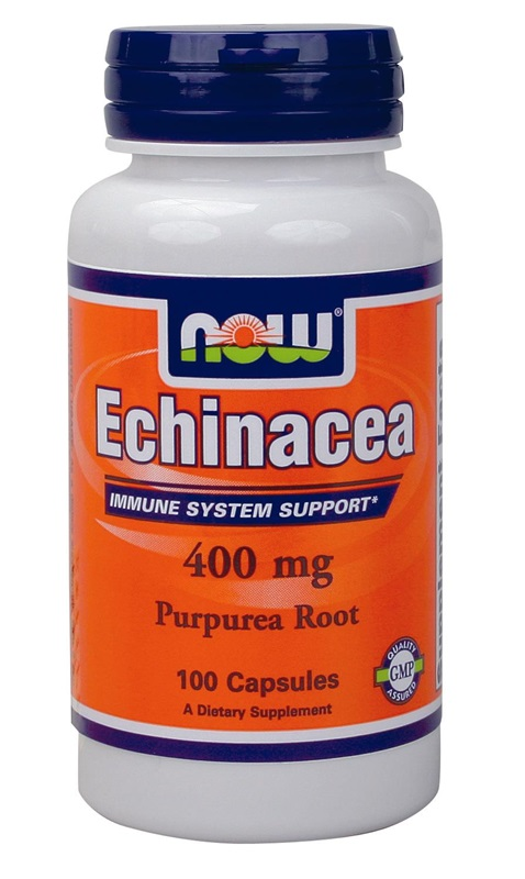 NOW FOODS ECHINACEA ROOT 400MG CAPS 100S (4660)