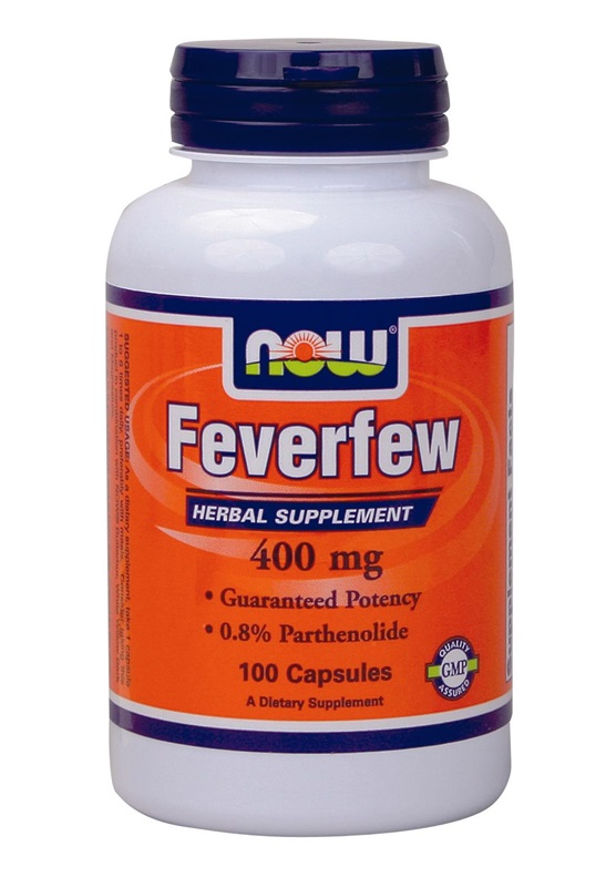 NOW FOODS FEVERFEW 400MG CAPS 100S (4670)