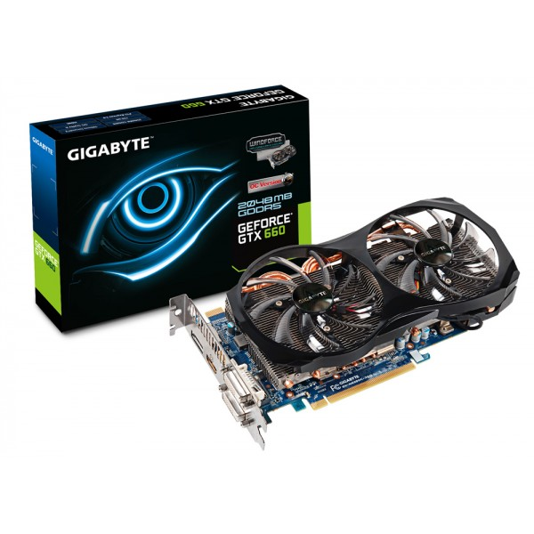 Gigabyte GeForce GTX660 OC 2GB