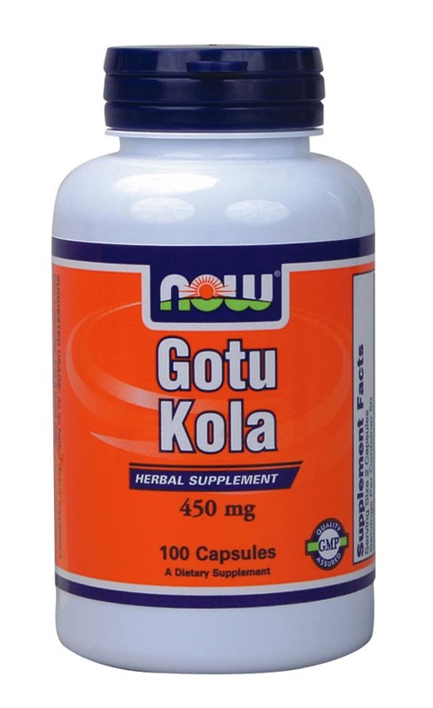 NOW FOODS GOTU KOLA 450MG CAPS 100S (4700)