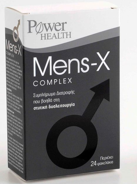 POWER HEALTH MENS-X COMPLEX 24S