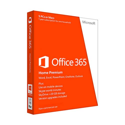 Microsoft Office 365 Home Premium 32-bit/x64 EN
