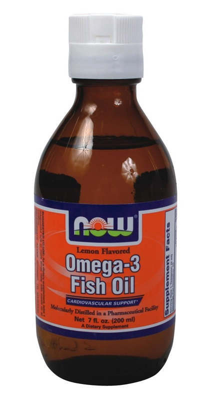 NOW FOODS OMEGA-3 LEMON 200ML (1659)