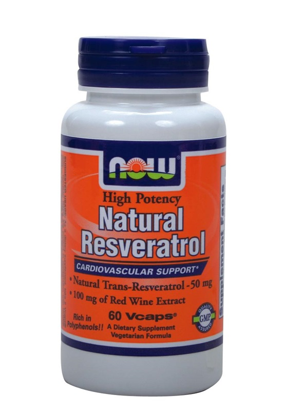 NOW FOODS RESVERATROL NATURAL CAPS 60S (3358)