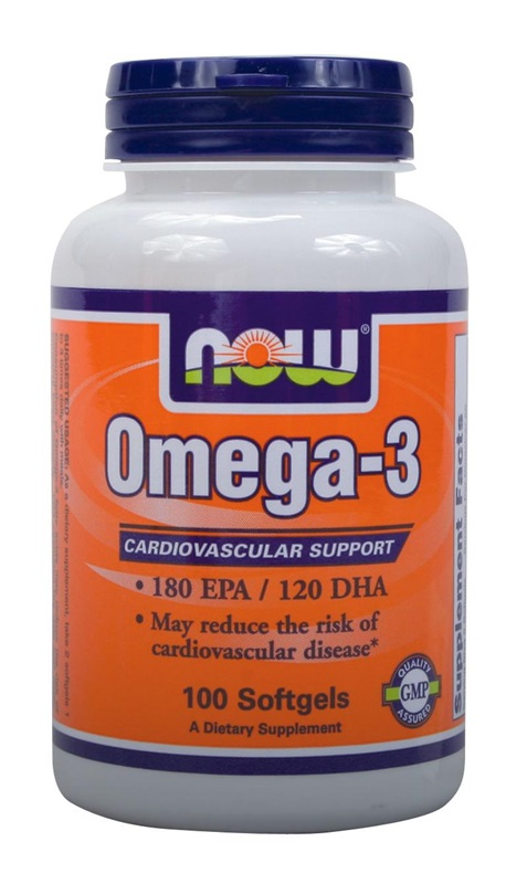 NOW FOODS OMEGA-3 1000MG SOFTGELS 50S (A1650)