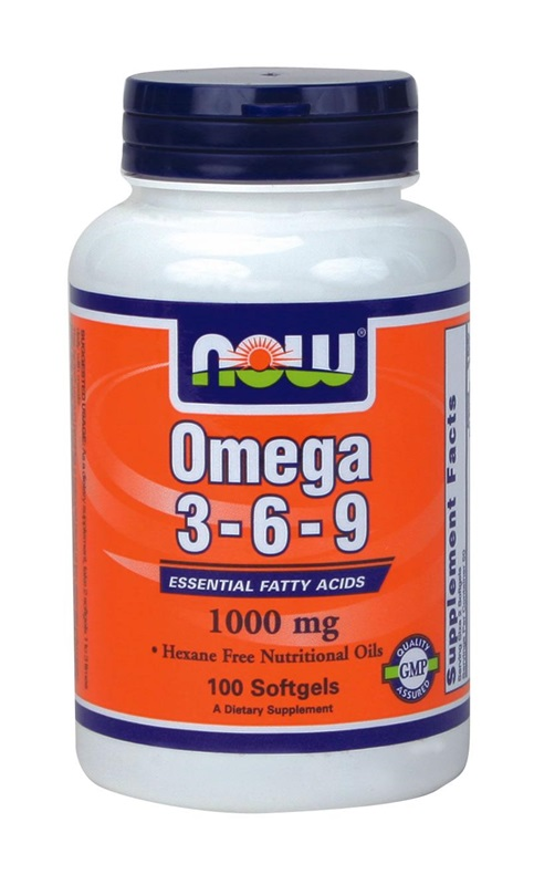 NOW FOODS OMEGA3-6-9 1000MG SOFTGELS 50S (A1835)