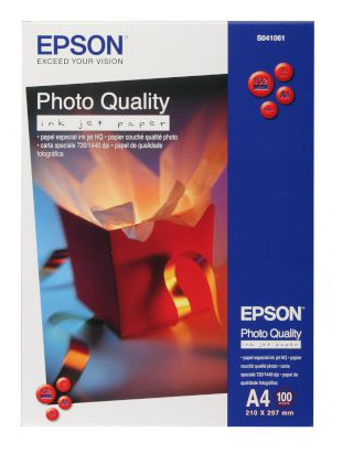 Epson Χαρτί Inkjet Photo Quality Matte Α4 (100 Φύλλα)