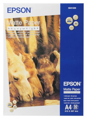 Epson Χαρτί Inkjet Heavyweight Matte Α4   (50 φύλλα Α4)