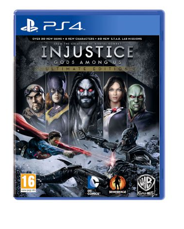 INJUSTICE:GODS AMONG US - ULTIMATE EDITION PS4