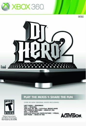 DJ HERO 2 STAND ALONE XBOX 360