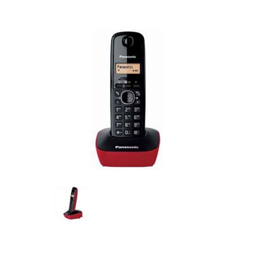 PANASONIC KX-TG1611GRR BLACK RED