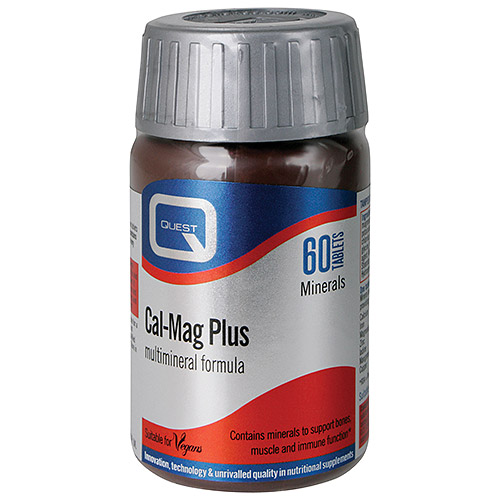 QUEST CAL-MAG PLUS MULTIMINERAL TABS 60S