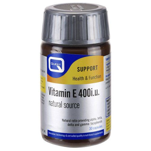 QUEST VITAMIN E 400IU TABS 30S