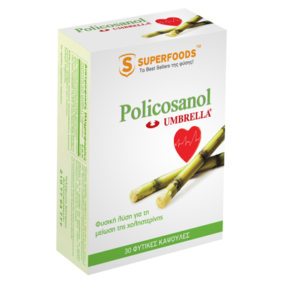 SUPERFOODS PILICOSANOL UMBRELLA CAPS 30S