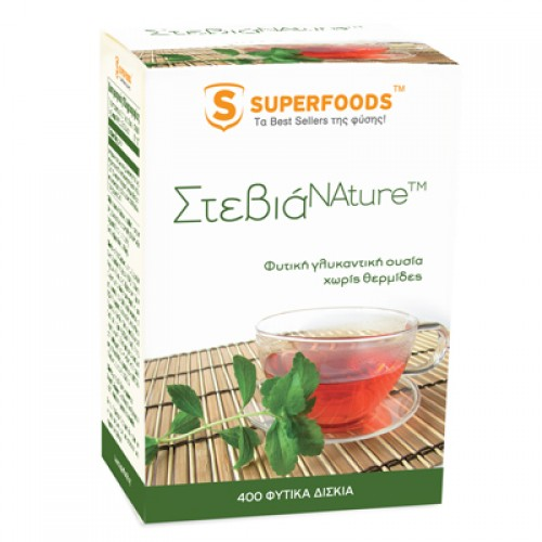 SUPERFOODS STEVIA 50MG CAPS 400S