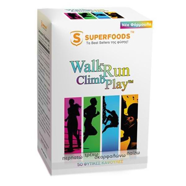 SUPERFOODS WALK RUN CLIMB PLAY CAPS 50S