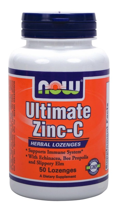 NOW FOODS ULTIMATE ZINC-C 50LOZ (0650)