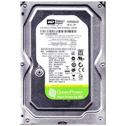 Western Digital AV-GP 500GB