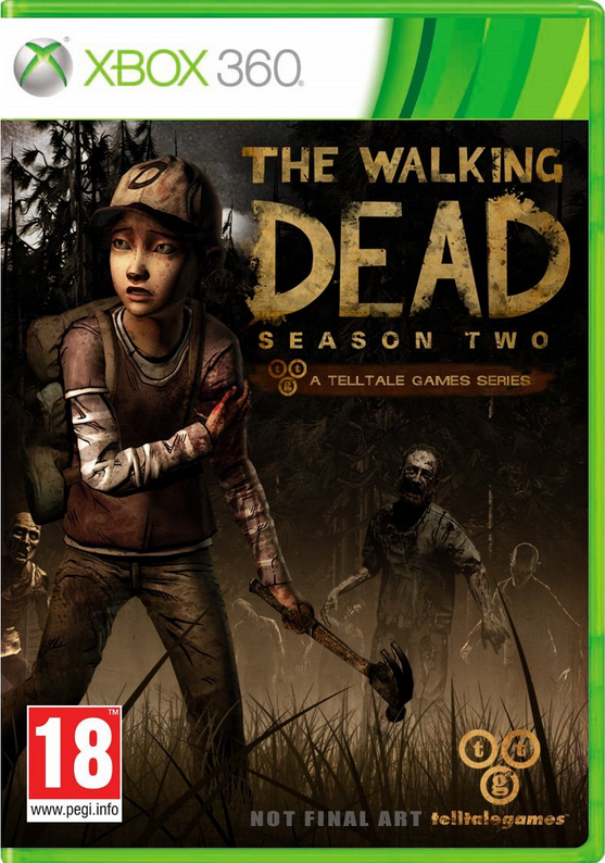 TELLTALE THE WALKING DEAD: SEASON 2 XBOX 360