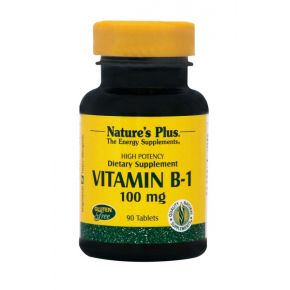 NATURES PLUS B-1 100MG TABS 90S (1600)