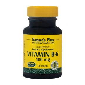 NATURES PLUS B-6 100MG TABS 90S (1650)
