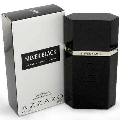 AZZARO SILVER BLACK EDT V 100ML (07-02-59)