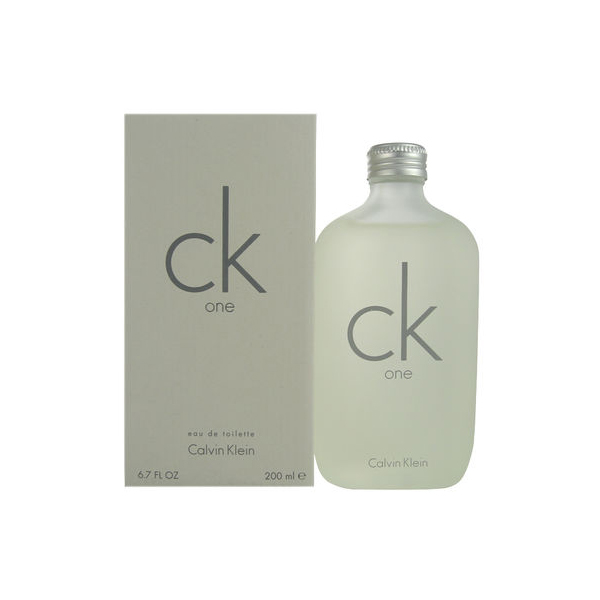CALVIN KLEIN ONE EDT V 100ML (07-01-18)