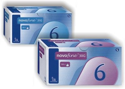 NOVOFINE 30G 6MM 100ΤΕΜ