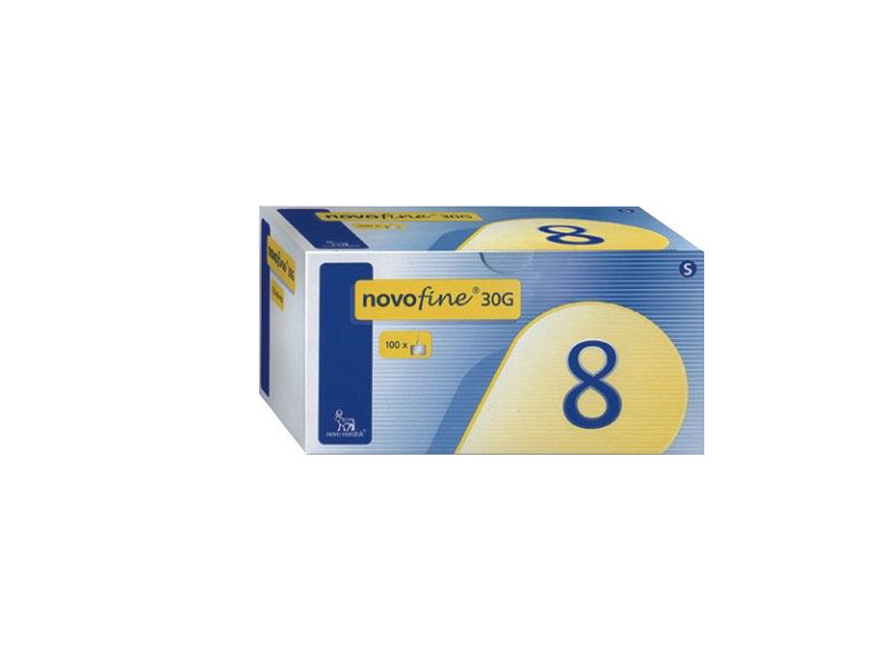 NOVOFINE 30G 8MM 100ΤΕΜ