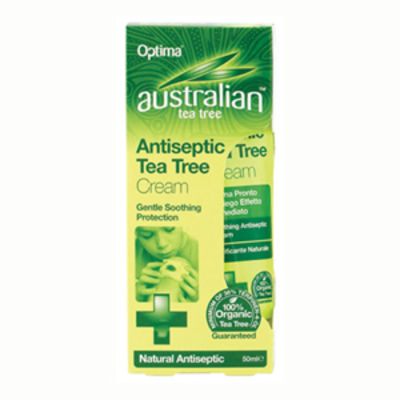 OPTIMA HEALTH TEA TREE ANTISEPTIC CREAM 50ML