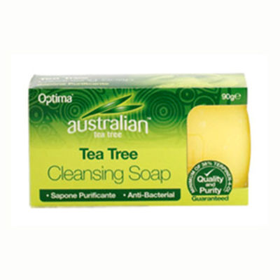 OPTIMA HEALTH TEA TREE CLEANSING SOAP 90GR