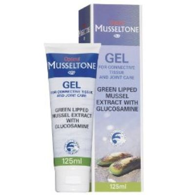 OPTIMA HEALTH MUSSELTONE GEL WITH GLUCOSAMINE 125ML