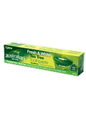 OPTIMA HEALTH TEA TREE FRESH και WHITE TOOTHPASTE 100ML