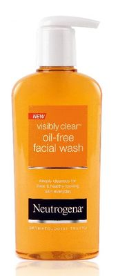 NEUTROGENA VISIBLY CLEAR OIL-FREE FACIAL WASH 200ML