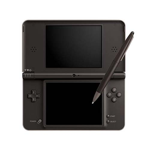 Nintendo Dsi XL DARK BROWN/RED/GREEN/YELLOW