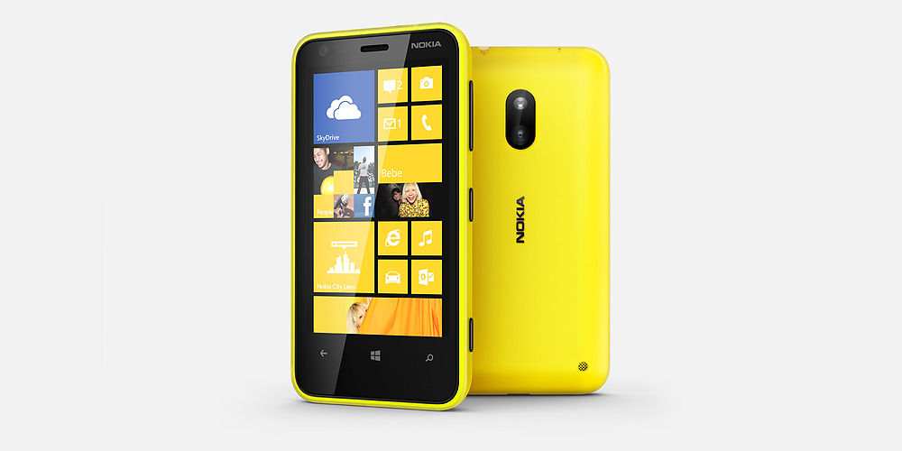 NOKIA LUMIA 620 Black/White/Green/Yellow/Orange/Cyan