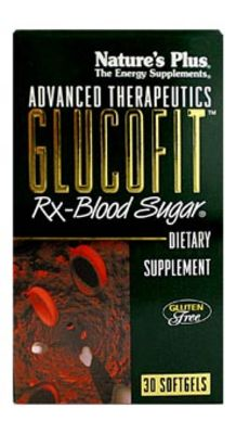 NATURES PLUS GLUCOFIT TABS 30S (4501)