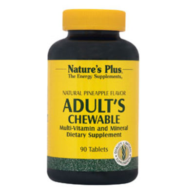 NATURES PLUS ADULT S CHEWABLE VITAMIN D3 1000IU TABS 90S (1044)
